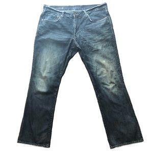 Gap Distressed Straight Fit Jeans 34X32
